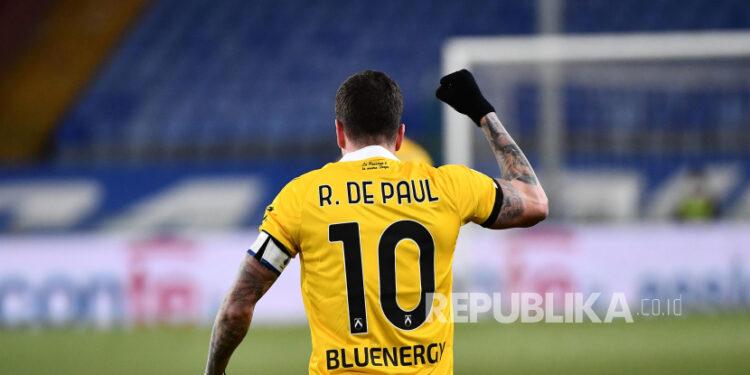 Gelandang Udinese Rodrigo de Paul.