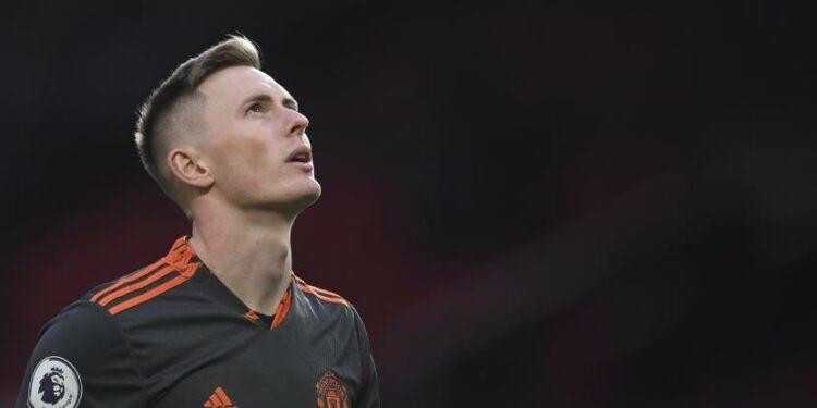 Manchester United goalkeeper Dean Henderson.