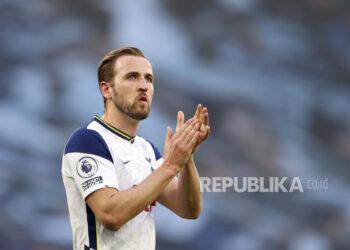 Penyerang Tottenham Hotspur Harry Kane.