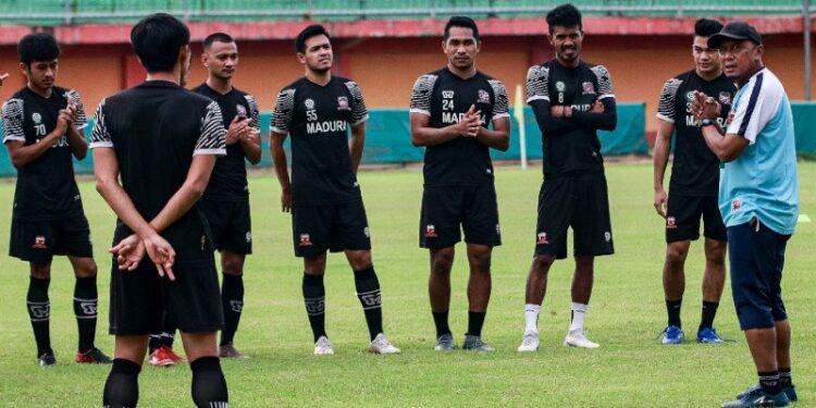 Madura United belum ubah komposisi pemain