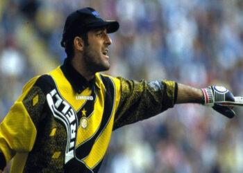 Mantan kiper Inter Milan Gianluca Pagliuca