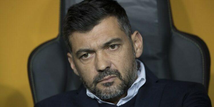 Pelatih Porto Sergio Conceicao jadi incaran Napoli.