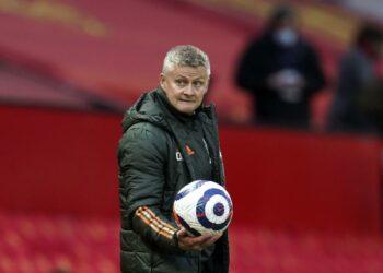 Pelatih Manchester United Ole Gunnar Solskjaer.