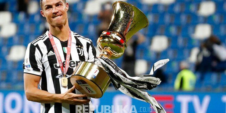 Pemain Juventus Cristiano Ronaldo