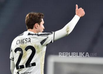 Gelandang Juventus, Federico Chiesa.