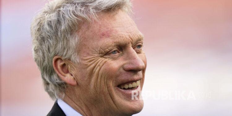 West Ham United coach David Moyes.