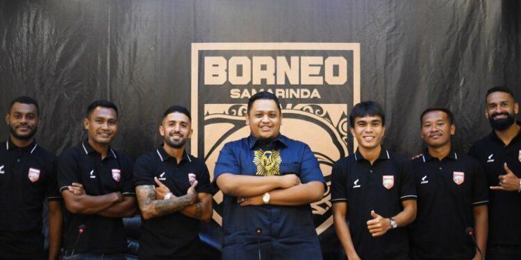 Borneo FC hadirkan persaingan ketat di semua lini