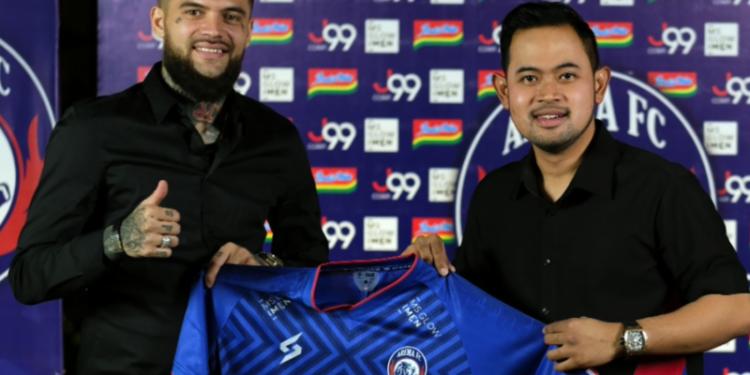Diego Michiels siap bawa Arema FC juarai Liga 1