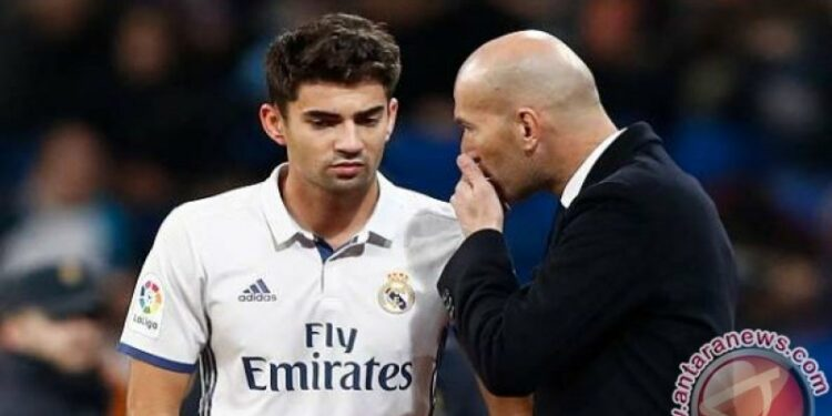 Enzo Zidane officially joins the Ligue club 2 French Rodez