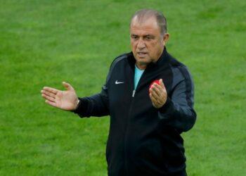 Pelatih Galatasaray Fatih Terim.