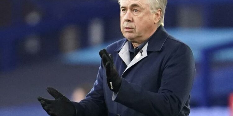 Pelatih baru Real Madrid Carlo Ancelotti.