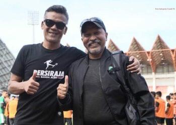 Coach Hendri dan Fakhri, dua sahabat lama | Foto via Instagram Coach Fakhri