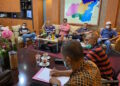 Suasana rapat pengurus PSBL Langsa | Foto via Waspada.id