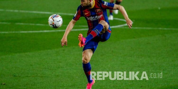 Barcelona player Jordi Alba.