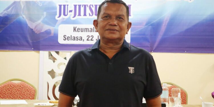 Khalili terpilih sebagai Ketua Umum Jujitsu Aceh   Foto Humas KONI Aceh