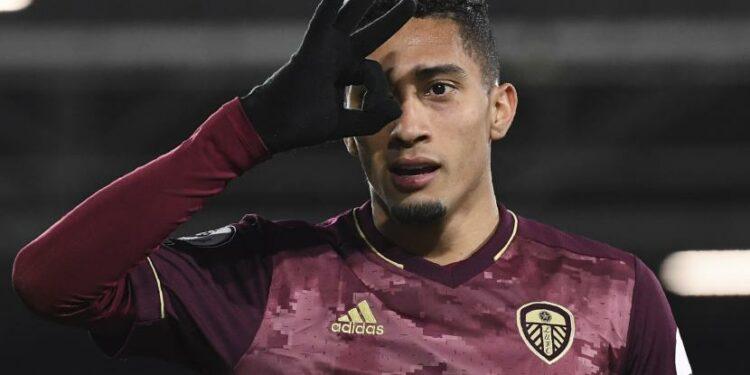 Raphinha, striker dari Leeds United.