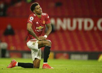 Marcus Rashford dari Manchester United.