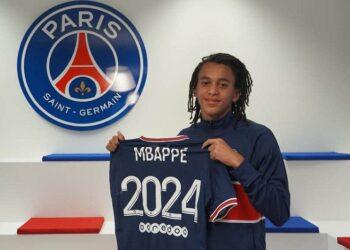 PSG ikat adik Kylian Mbappe dengan kontrak tiga tahun