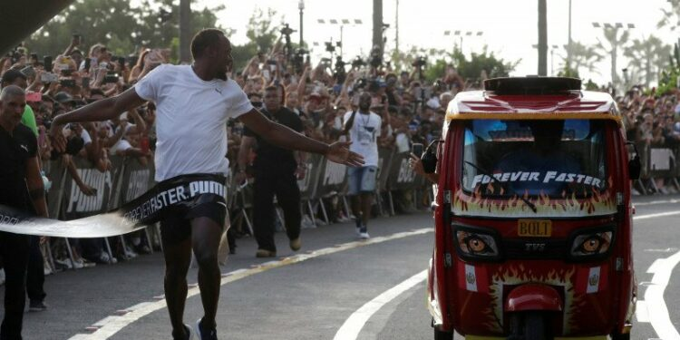 Pelari legendaris Usain Bolt miliki anak kembar