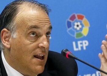 Presiden La Liga Javier Tebas.