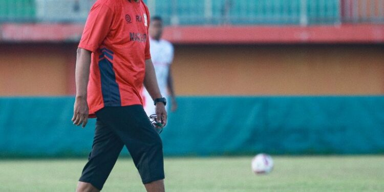 Rahmad Darmawan satisfied with the trial results versus Malang United