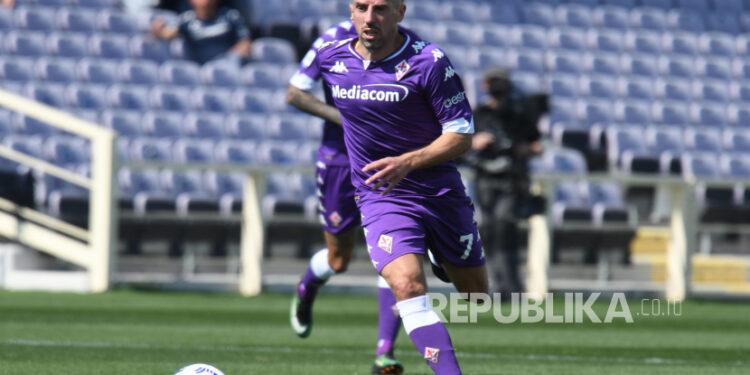 Franck Ribery dari Fiorentina.