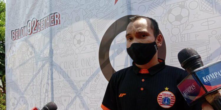 Riko Simanjuntak rayakan HUT Jakarta dengan kerja keras untuk Persija