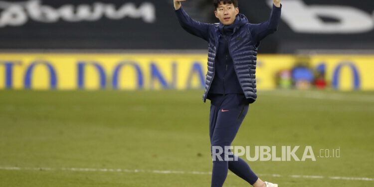 Son Heung-min memperpanjang kontrak di Tottenham Hotspur.