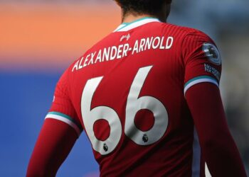 Trent Alexander-Arnold from Liverpool.