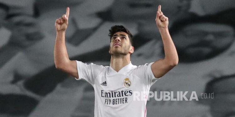 Striker Real Madrid Marco Asensio.