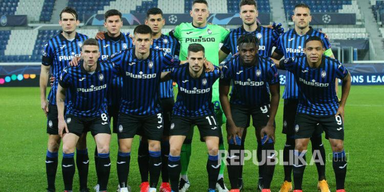 Para pemain Atalanta musim lalu.