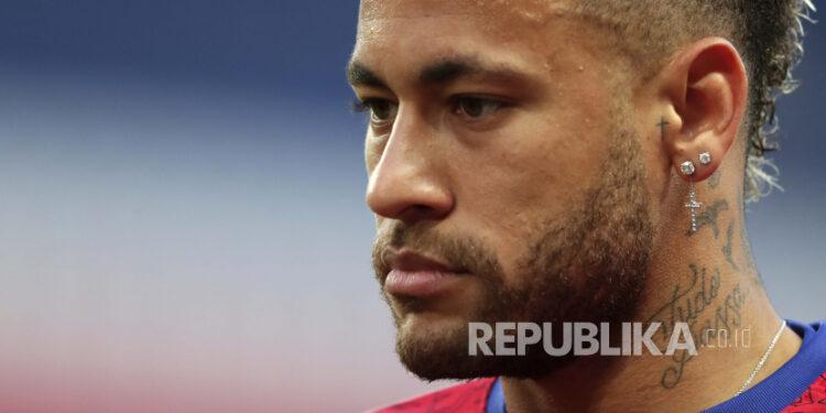Bintang Paris Saint-Germain (PSG) Neymar.