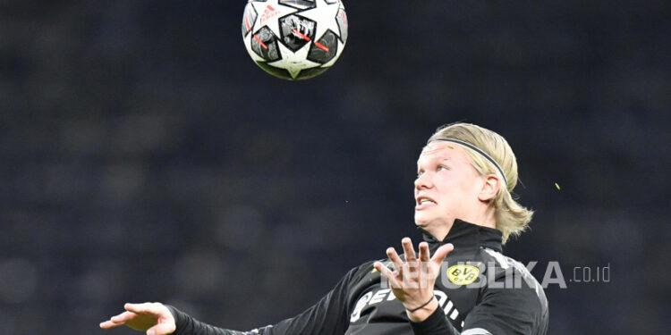 Striker Borussia Dortmund Erling Haaland.