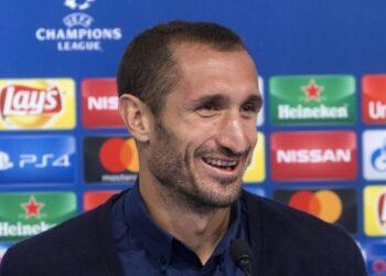 Juventus defender, Giorgio Chiellini.