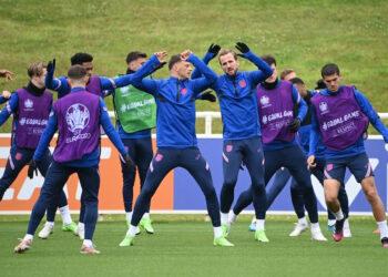 Skuat Inggris   Foto Twitter Euro