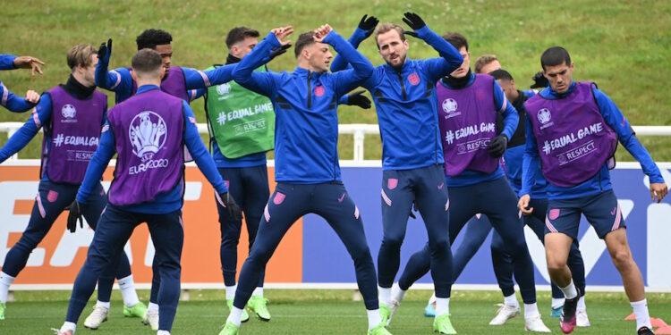 Skuat Inggris | Foto Twitter Euro