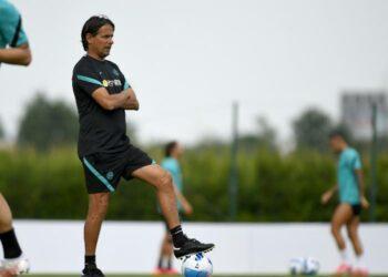 Pelatih Inter Milan Simone Inzaghi.