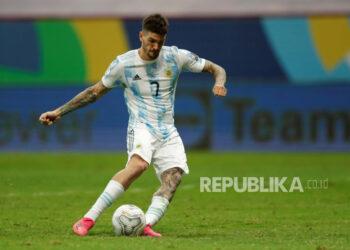Gelandang timnas Argentina Rodrigo De Paul.