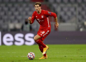 Gelandang Bayern Muenchen Leon Goretzka.