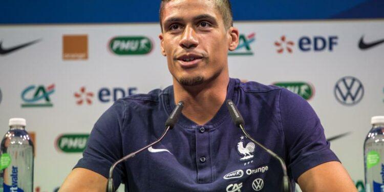 Pemain timnas Prancis dan Real Madrid, Raphael Varane.