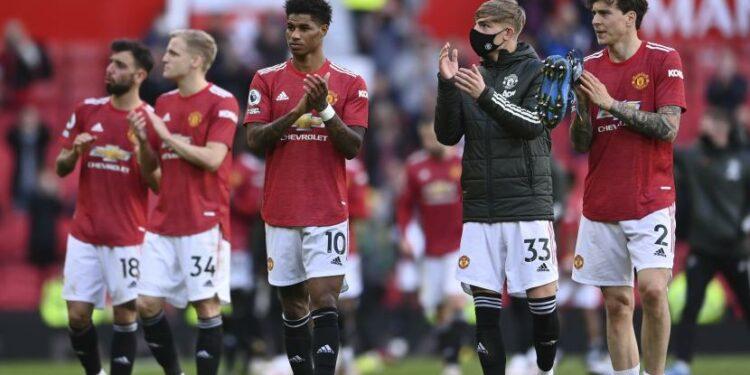 Para pemain Manchester United (ilustrasi).