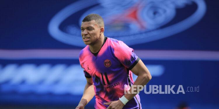 Bintang timnas Prancis dan PSG, Kylian Mbappe.
