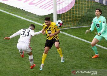 Penyerang asal Portugal Andre Silva bergabung dengan RB Leipzig