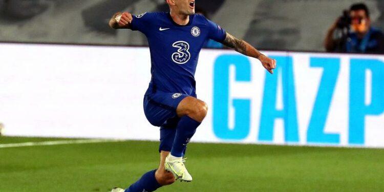 Pemain sayap Chelsea FC, Christian Pulisic.