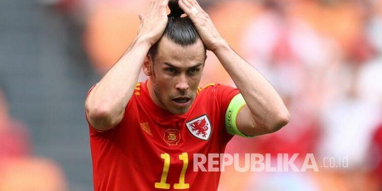 Gelandang timnas Wales dan Real Madrid, Gareth Bale.