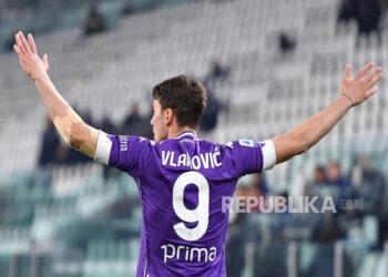 Bomber Fiorentina Dusan Vlahovic.