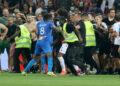 Buntut kerusuhan suporter, Nice jamu Bordeaux tanpa penonton