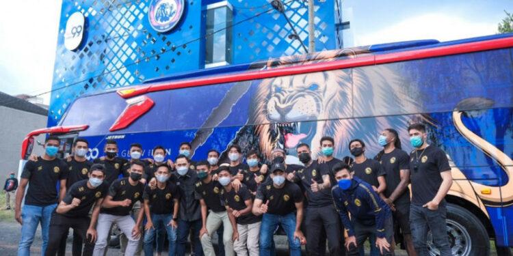 Bus mewah baru siap antar Arema FC mengaum di Liga 1