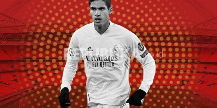 Raphael Varane, bek baru Manchester United.