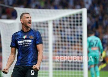 Striker Inter Milan, Edin Dzeko.